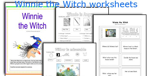 Winnie The Witch Worksheets