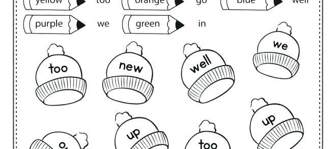 Winter Worksheets For Kindergarten Free Winter Worksheets