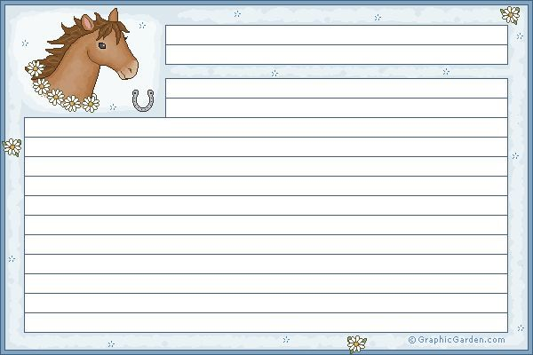 Horse Worksheets Printable