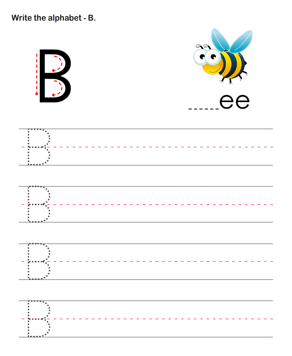 Capital Letters B