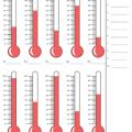 Measuring Temperature Worksheets