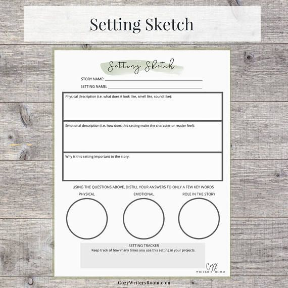 Writing Project Bundle Printable Worksheet, Us Letter, Instant