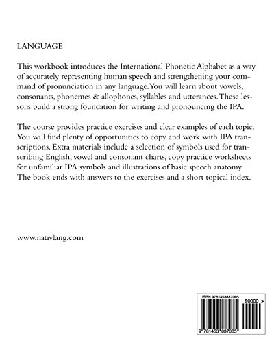 The Ipa For Language Learning  An Introduction To The