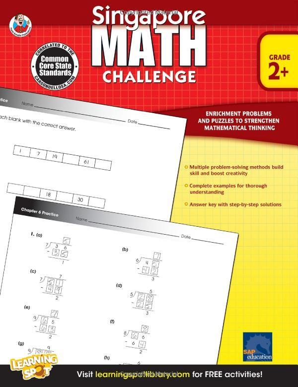 Singapore Math Challenge, Grades 2