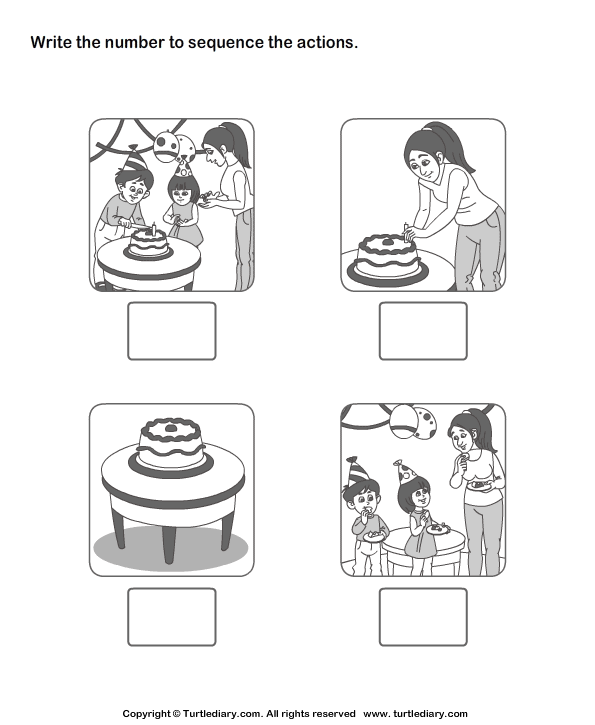Picture Sequence 2 Worksheet