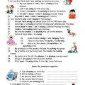 Present Simple Tense Worksheets Pdf