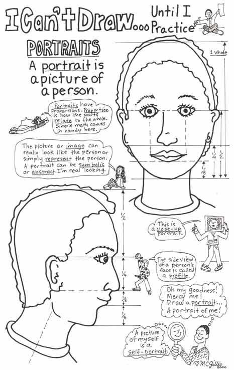 Art Worksheets For Middle School