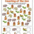 Preschool Counting Worksheets Free Printable