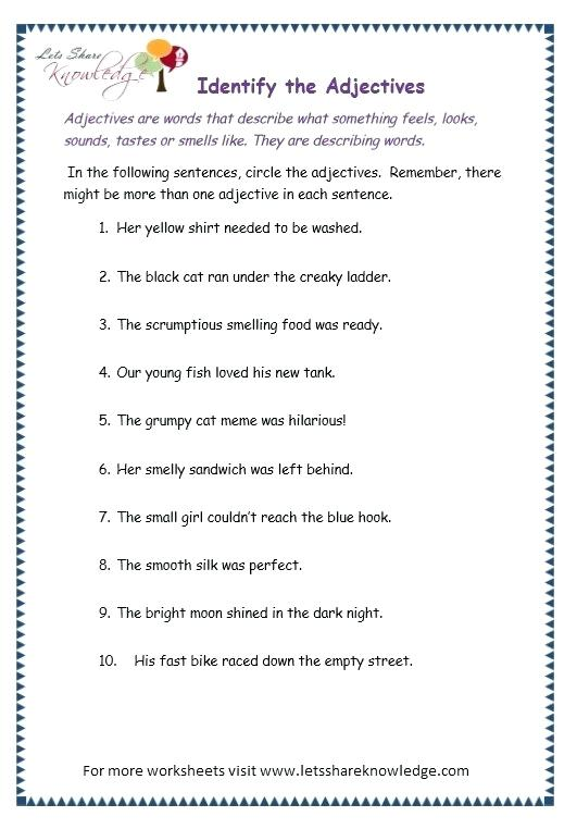 Adjectives Worksheets Animals Worksheet Teaching Resource For