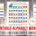 Lowercase Letter Recognition Worksheets
