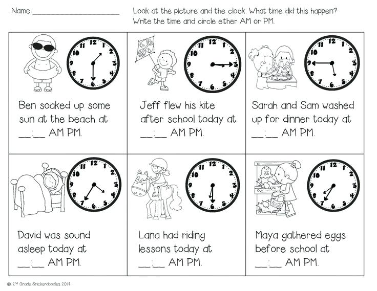 Am Pm Time Worksheets Grade 3 And Year 4