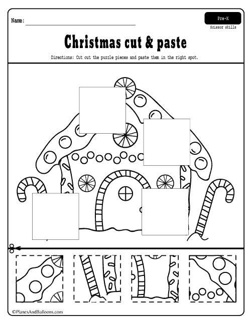 Free Printable Christmas Worksheets For Preschoolers
