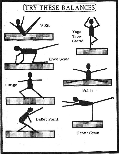 Balance Beam Worksheets