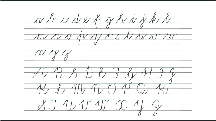 Calligraphy For Beginners Worksheets B And D Handwriting