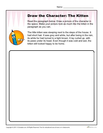 Draw The Kitten