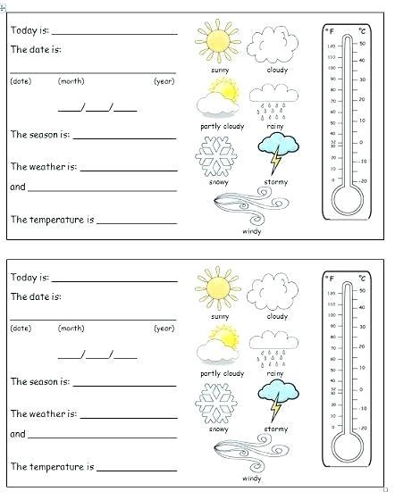 Weather Worksheets For 2nd Grade – Morningknits Com