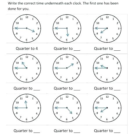 Clock Practice Worksheets – Uasporting Com