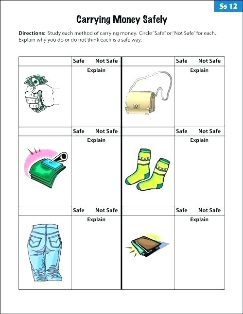 Collection Of Free Printable Life Skills Math Worksheets Download