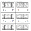 Math Worksheets Kindergarten Addition