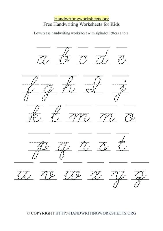 English Cursive Writing Worksheets – Katyphotoart Com