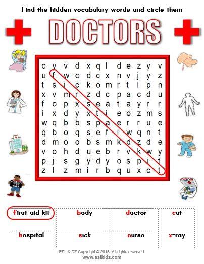 Doctor   Hospital Classroom Center Activity Bundle