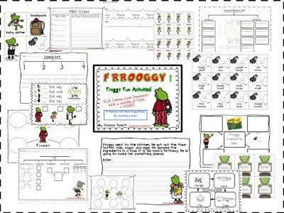 My Froggy Stuff Printables Worksheets Images