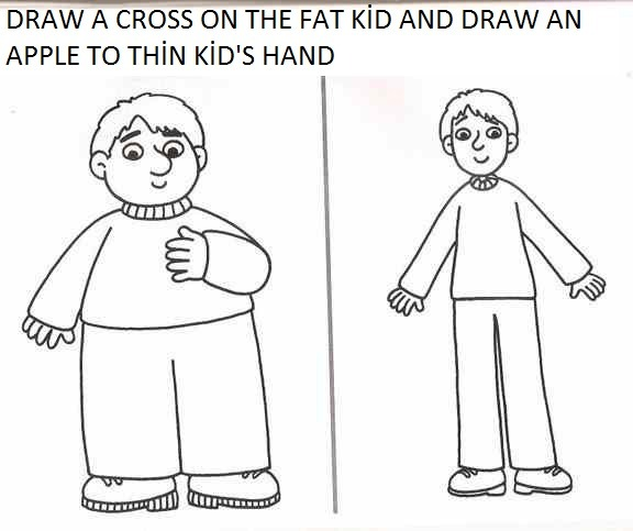 Fat Or Thin Activity Worksheets For Preschool