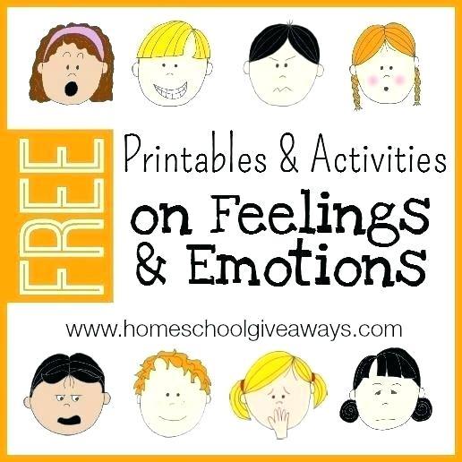 Feelings And Emotions Worksheets Emotions Worksheets For Kids