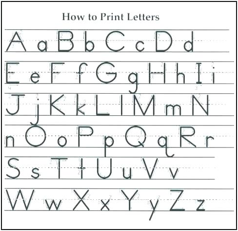 First Grade Alphabet Worksheets D Alphabet Worksheets Free