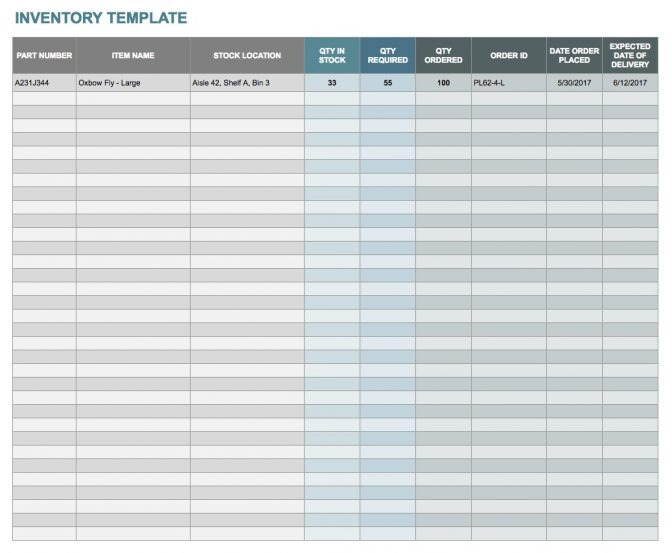 Free Google Docs And Spreadsheet Templates Smartsheet Accounts