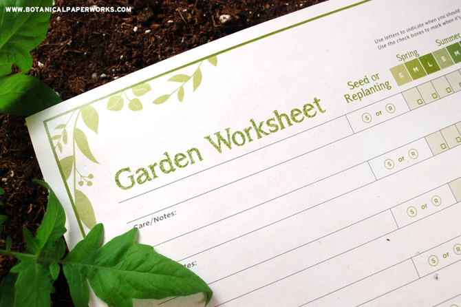 Free Printable} Garden Planning Worksheet + Helpful Tips To Get