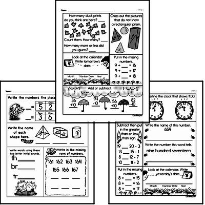 Free First Grade Geometry Pdf Worksheets