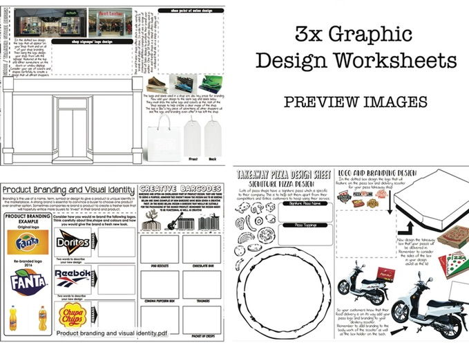 Graphic Design Worksheets