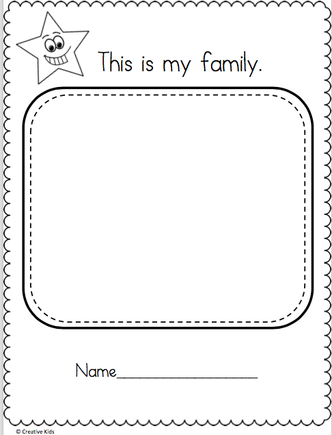 Kindergarten Drawing Worksheets At Paintingvalley Com
