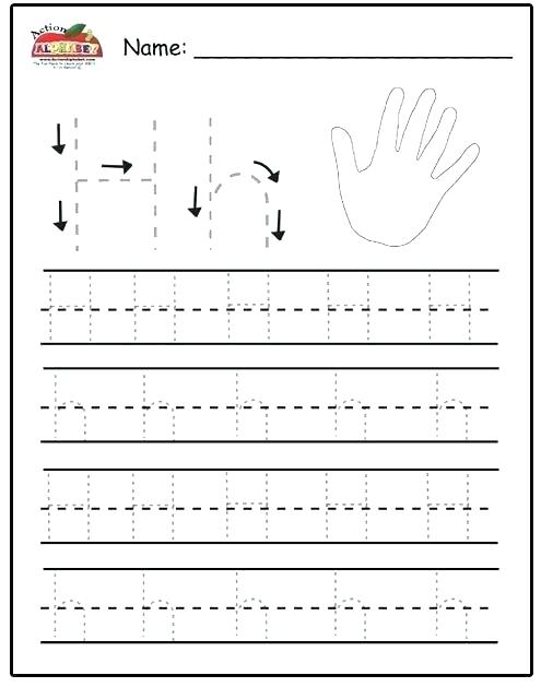 Letter E Tracing Worksheets Preschool Page K Er Free Pages