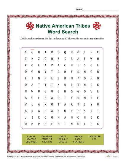Native American Heritiage Month