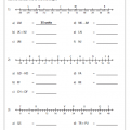 Midpoint And Distance Formulas Worksheets
