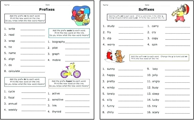 Free Prefix Worksheets For 3rd Grade – Baysidebaby Co