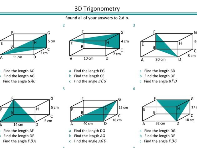 3d Trigonometry By Ragmaths