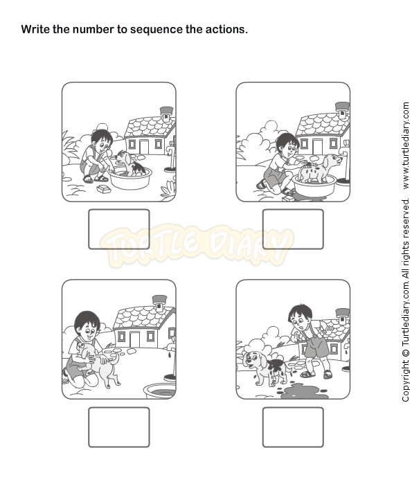 Story Sequencing Worksheets For Kindergarten