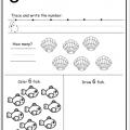 Worksheets For Number 6