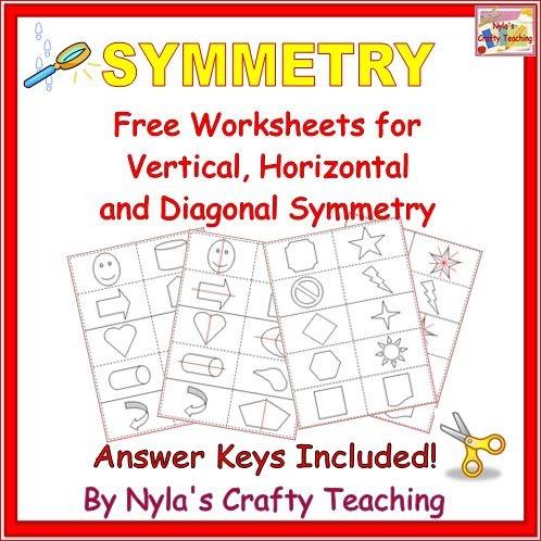 Nyla's Crafty Teaching  Free Symmetry Worksheets