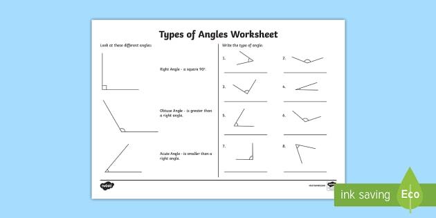 Acute And Obtuse Angles Ks2