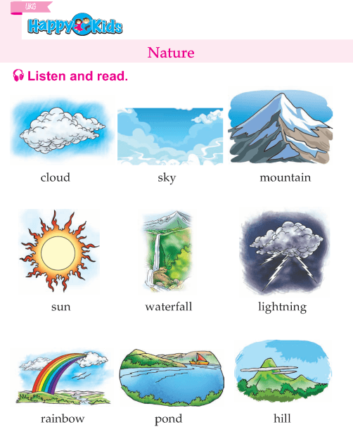 Kindergarten English Nature