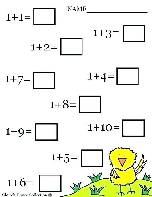 Kindergarten 2 Worksheets High School Worksheets Math Simple