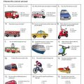 Transport Worksheets Grade 2