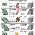 Free Printable Money Worksheets