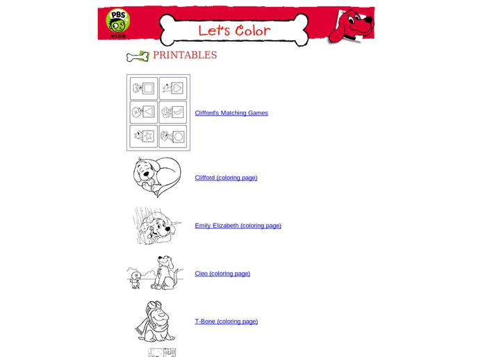 Pbs Kids  Clifford The Big Red Dog