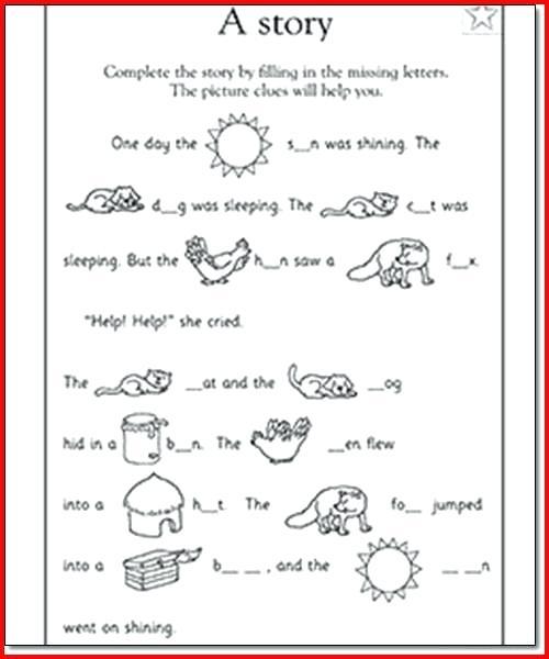 English For 1st Graders Worksheets – Morningknits Com