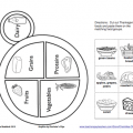 Food Plate Worksheets